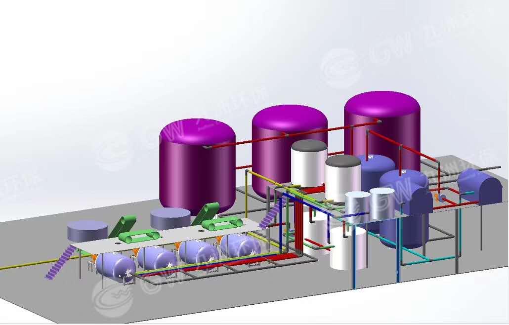 泡花碱生产线生产设备