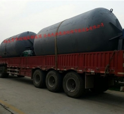 Sodium silicate static pressure kettle drum